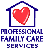 Professional Family Care Services Mobile Logo