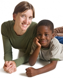 Child with Foster Parent