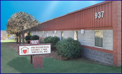 Professional Family Care Services Main Office, Menoher Boulevard, Johnstown PA